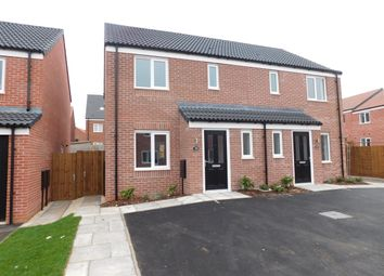 Thumbnail 3 bed semi-detached house to rent in Chaffinch Close, Kings Clipstone, Mansfield