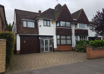 Thumbnail 5 bed semi-detached house for sale in Wakerley Road, Evington, Leicester