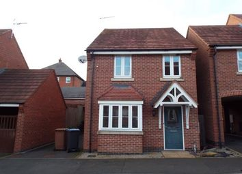Thumbnail 3 bed detached house for sale in Champlain Way, Earl Shilton, Leicester, Leicestershire