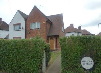 Thumbnail 3 bed semi-detached house to rent in Meriden Avenue, Beeston, Nottingham