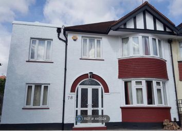 Thumbnail 6 bed semi-detached house to rent in Hook Road, Surbiton