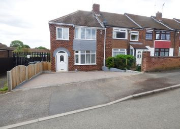 Thumbnail 3 bed end terrace house for sale in Brookford Avenue, Keresley, Coventry