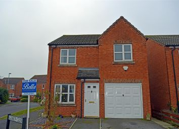 Thumbnail 3 bed detached house for sale in Elizabeth Close, Crowle, Scunthorpe