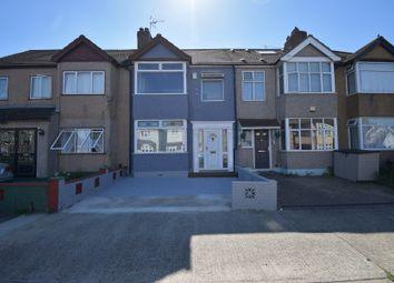 Thumbnail 3 bed terraced house to rent in Hubert Road, Rainham, Essex