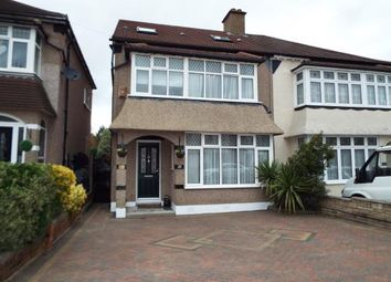 Thumbnail 4 bed semi-detached house for sale in Hainault, Ilford, Essex
