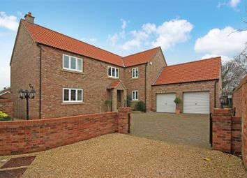 Thumbnail 5 bed detached house for sale in Farm Close, North Leverton, Retford