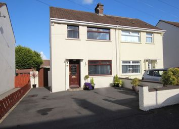 Thumbnail 2 bed semi-detached house for sale in Harmin Crescent, Newtownabbey