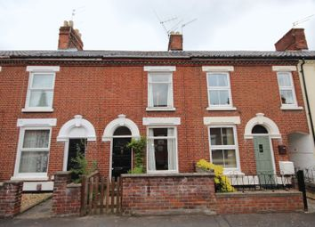 Thumbnail 3 bed terraced house to rent in Caernarvon Road, Norwich