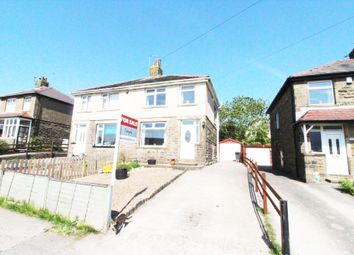 Thumbnail 3 bed semi-detached house for sale in Weston Avenue, Queensbury, Bradford