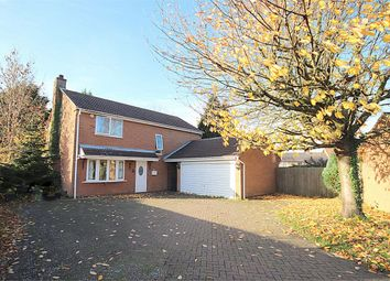 Thumbnail 4 bed detached house for sale in Ibstock Close, Northampton