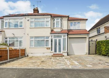 Thumbnail 4 bed semi-detached house for sale in The Drive, Romford