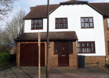 4 bed semi-detached house for sale in Carpinus Close Walderslade, Chatham, Kent ME5