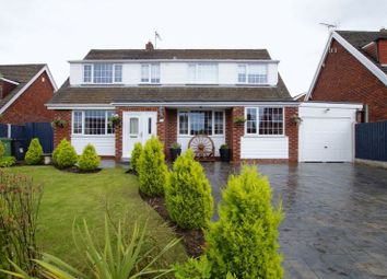 Thumbnail 4 bed detached house for sale in Yorke Close, Marchwiel, Wrexham