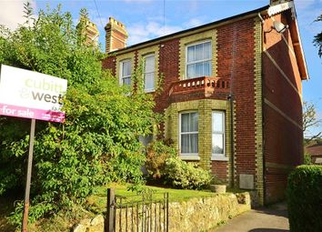Thumbnail 3 bed semi-detached house for sale in Crowborough Hill, Crowborough, East Sussex