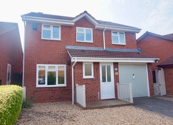 Thumbnail 4 bed detached house for sale in Westmorland Close, Tamworth
