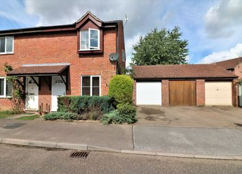 Thumbnail 2 bed semi-detached house for sale in Norman Close, Scarning