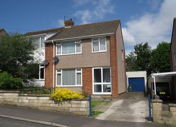 Thumbnail 3 bed semi-detached house for sale in Crockerne Drive, Pill, Bristol