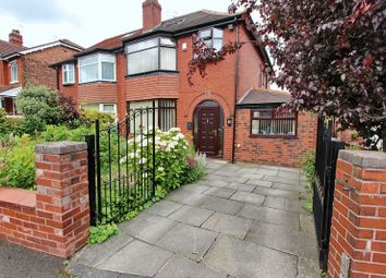 Thumbnail 4 bed semi-detached house for sale in Glebelands Road, Prestwich, Manchester
