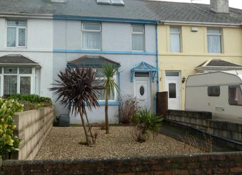 Thumbnail 3 bed terraced house to rent in Barton Hill Road, Barton, Torquay, Devon