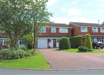 Thumbnail 5 bedroom detached house for sale in Ferndale Close, Sandbach