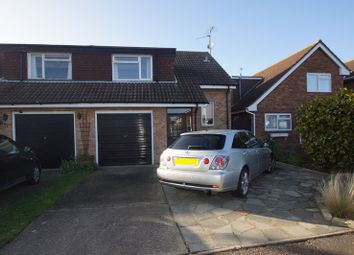 Thumbnail 3 bed semi-detached house for sale in Admirals Walk, Shoeburyness, Southend-On-Sea
