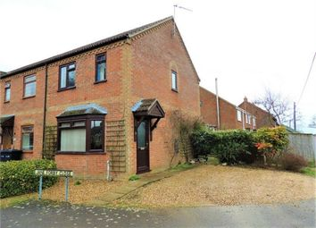 Thumbnail 3 bed end terrace house for sale in Church Road, Wretton, King's Lynn