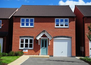 Thumbnail 4 bed detached house for sale in Stretton Park, Stretton, Burton-On-Trent