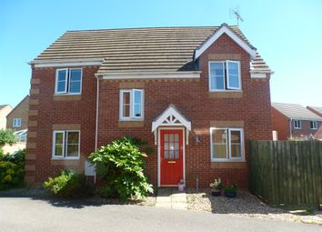 Thumbnail 4 bed detached house for sale in Shackleton Close, Shortstown, Bedford