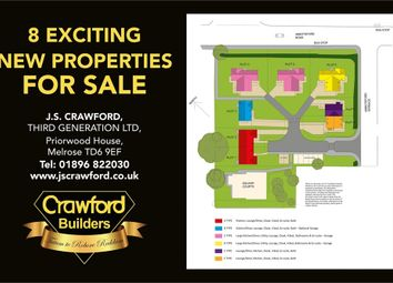 Thumbnail 4 bed detached house for sale in Abbotsford Road, Galashiels, Scottish Borders
