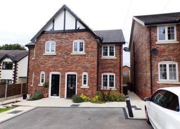 Thumbnail 3 bed semi-detached house for sale in Manor Road, Woodley, Cheshire