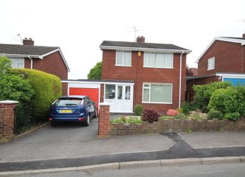Thumbnail 3 bed detached house for sale in Burton Drive, Wrexham