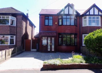 Thumbnail 3 bed semi-detached house for sale in Barnfield, Urmston, Manchester, Greater Manchester
