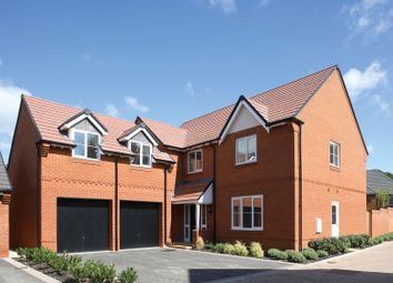 "Thumbnail 5 bed detached house for sale in ""The Chase"" at Tile Barn Row, Woolton Hill, Newbury"