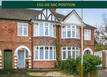Thumbnail 3 bed town house for sale in Melcroft Avenue, Western Park, Leicester