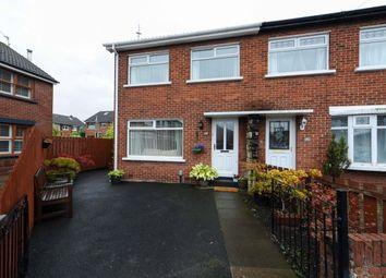 Thumbnail 3 bed terraced house for sale in Larkfield Gardens, Sydenham, Belfast