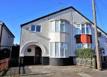 Thumbnail 3 bed semi-detached house for sale in Edgehill Road, Leicester