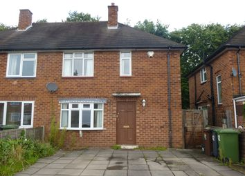 Thumbnail 3 bed semi-detached house for sale in Broomfields Close, Solihull