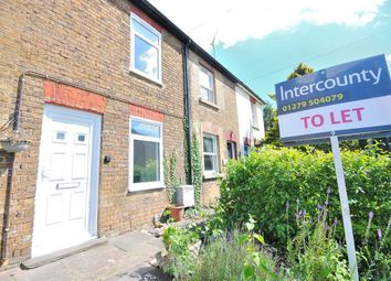 Thumbnail 1 bedroom terraced house to rent in Stansted Road, Bishops Stortford, Hertfordshire