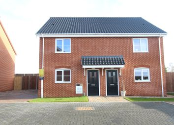 Thumbnail 2 bed semi-detached house for sale in Plot 11, Barn Owl Close, Off Station Road, Reedham