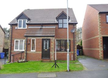 Thumbnail 2 bed semi-detached house for sale in Beech Avenue, Cramlington