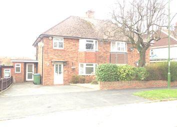 Thumbnail 3 bedroom semi-detached house to rent in Saxon Crescent, Horsham
