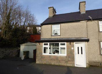 Thumbnail 2 bed end terrace house for sale in Tan Treflys, Gerlan, Bethesda, Bangor