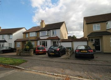 Thumbnail 3 bed semi-detached house for sale in Byron Gardens, Sutton, Surrey