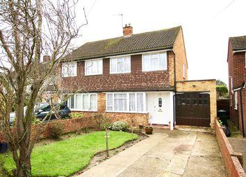 Thumbnail 3 bed semi-detached house for sale in Laleham Road, Shepperton