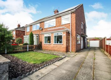 Thumbnail 3 bed semi-detached house for sale in Bolingbroke Road, Scunthorpe