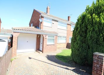 Thumbnail 3 bed semi-detached house for sale in Guildford Road, Normanby, Middlesbrough