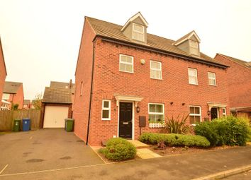 Thumbnail 4 bedroom semi-detached house for sale in King Street, Warsop Vale, Mansfield
