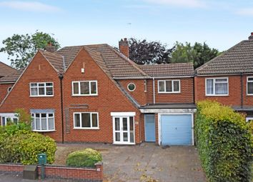 Thumbnail 5 bed semi-detached house for sale in Brookside Drive, Oadby, Leicester