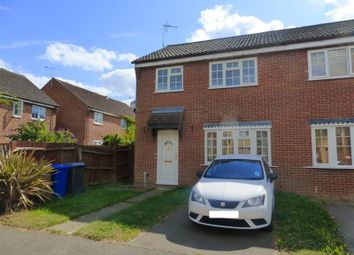 Thumbnail 3 bed end terrace house to rent in Macpherson Robertson Way, Mildenhall, Bury St. Edmunds