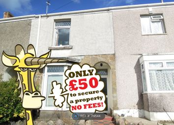Thumbnail 4 bed terraced house to rent in Bayview Terrace, Swansea